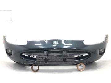 jaguar xk8 x100 бампер усиление хром перед комплект - фото