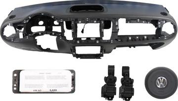 торпеда консоль подушка ремни безопасности vw new beetle - фото