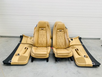 сиденья задние bentley contonental gt coupe 3w8 - фото