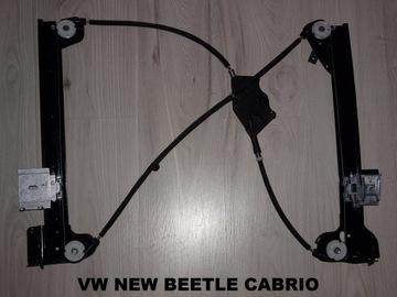 vw new beetle кабриолет - подйомник стекла перед правый - фото