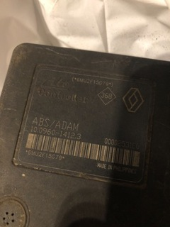 НАСОС ABS LAGUNA II ABS/ADAM 10.0960-1412.3 SPRAWN