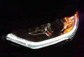 ford fusion usa рестайлинг 17-20 фара led левая оригинал - фото