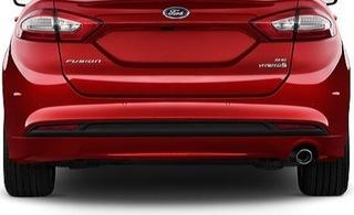 ford fusion usa 2013-18 бампер hybrid 1.5 2.5 pdc - фото