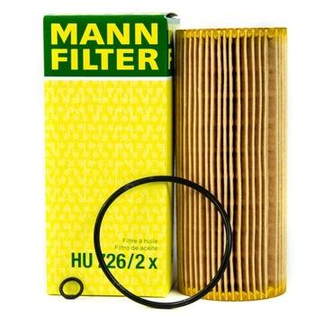 фильтр масла mann hu726/2x к audi seat vw