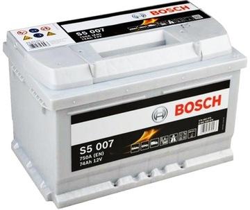 akumulator bosch silver s5 74ah 750a