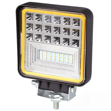 126w лампа рабочая led панель галоген 12v 24v cree