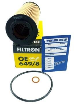 oe649/8 filtron фильтр масла bmw 3 e46 e90 e83 e53