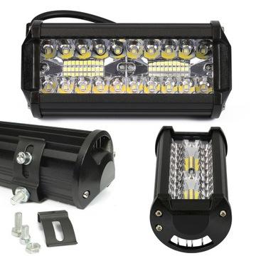 led 120w противотуманная прожектор фара светодиодная 12v 24v