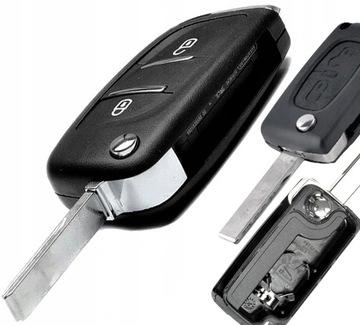 peugeot 307cc 308 807 3008 ключ пульт корпус