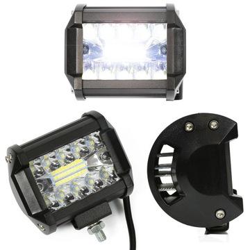 led 60w противотуманная прожектор фара светодиодная 12v 24v
