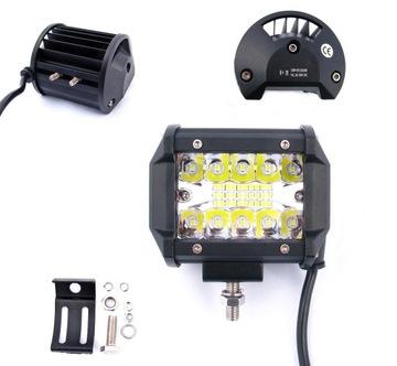 панель led лампа рабочая галоген 60w 12v - 24v cree
