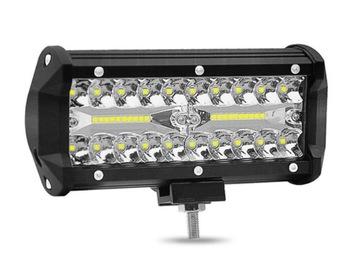 panel led фара светодиодная противотуманная 120w 12-24v cree
