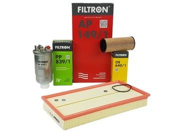 filtron комплект фильтров audi a3 8l 1.9 tdi