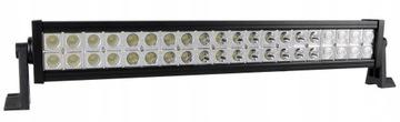 lampa светодиодная панель противотуманная 40 led 120w 12v 24v
