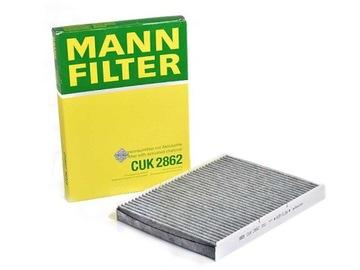 фильтр салона mann cuk2862 - фото
