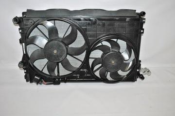комплект радиаторов skoda yeti 1.4 tsi 09-17 - фото
