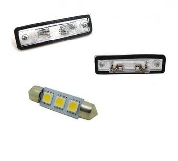opel vectra b подсветка таблици rej плафон светодиод led - фото