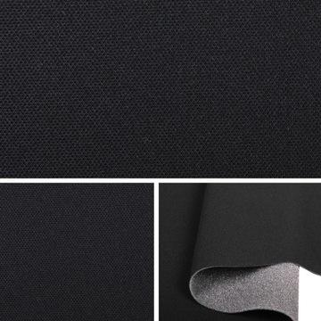 sam257 ткань автомобильная обшивка крыши черная - фото