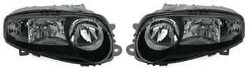 nowe фары alfa romeo 147 комплект 1999-2004 black