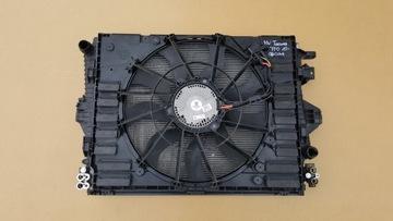 комплект радиаторов vw touareg 7p0 3.0tdi 248km 10-14 - фото