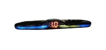 датчики парковки малый дисплей led цветной - фото