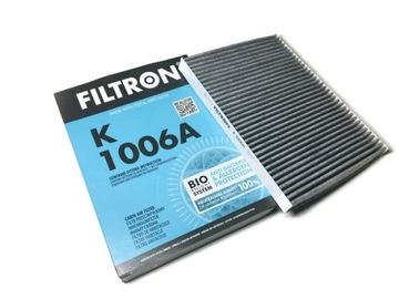 фильтр салонный угольный filtron k1006a vag - фото
