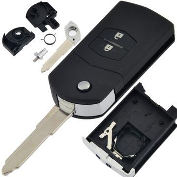 корпус пульт ключ до mazda 2 3 5 6 cx-7 rx-8
