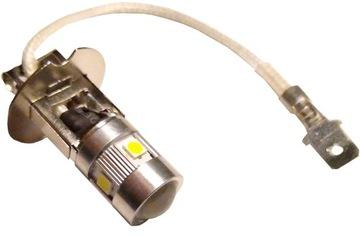 2 штуки -h3 лампочка светодиод led smd h3 12/24v мощное - фото