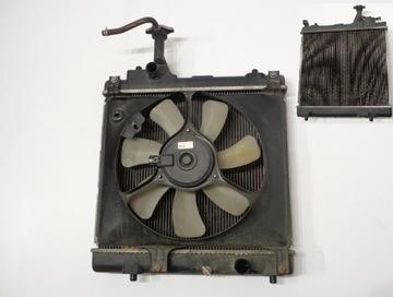 радиатор воды вентилятор nissan pixo suzuki alto - фото