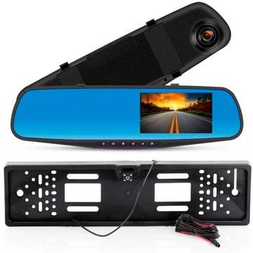 видеорегистратор водителя камера заднего вида в зеркала hd - фото
