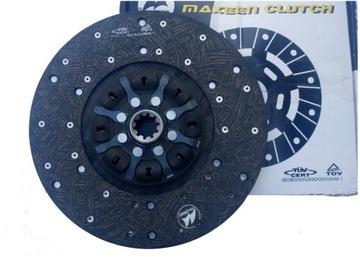 диск комплекта сцепления 330mm mercedes 814,817,914,1114 - фото