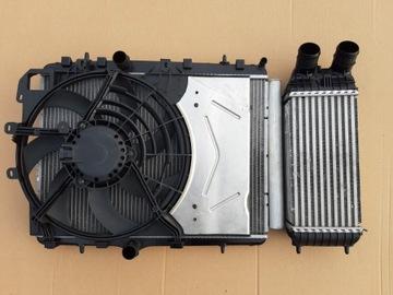 комплект радиаторов citroen c2 c3 cactus ds3 c-elysee - фото