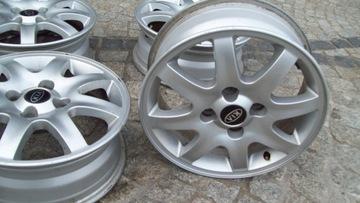 алюминиевые диски 16x6j, 4x114, 3, kia -cerato, carnes - фото