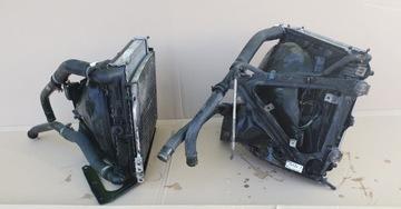 porsche 911 996 вентилятор радиаторы левая правая - фото