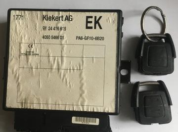 opel vectra b модуль блок управления два пульт 24416615 - фото