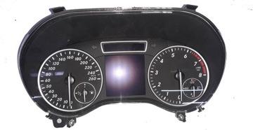 mercedes w246 b класс щиток приборная панель - фото