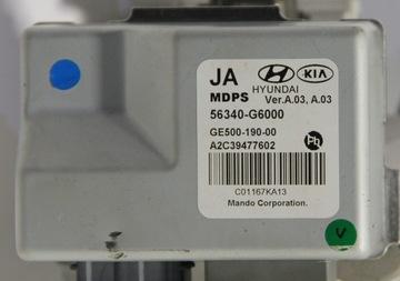 kia picanto 3 модуль гидроусилителя 56340-g6000 - фото