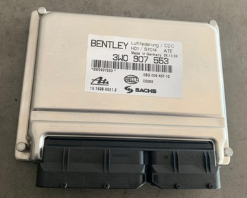 bentley continental блок управления подвески 3w0907553 - фото