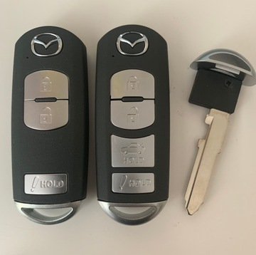 mazda 3 6 cx3 cx5 ключ smart key usa 13-2018