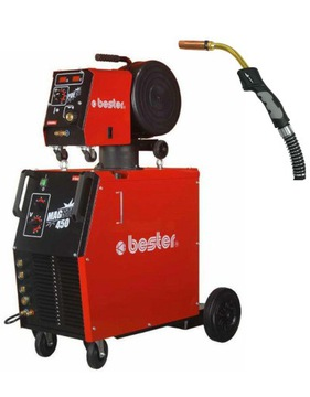 migomat lincoln bester magster 450w spawarka mig - фото