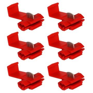 6 штуки быстроразъемное штуцер соединитель кабель 0,5-1,5 - фото