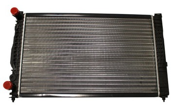 радиатор воды audi a4 b5 passat b5 a6 c5 1.9tdi - фото