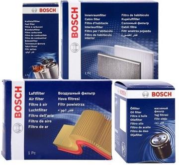 bosch комплект фильтров угольный audi a4 b7 b8 2.0tdi - фото