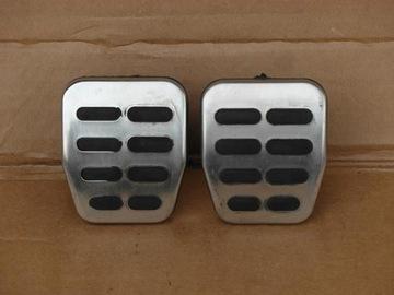 накладки на педали cцепление hamulec audi tt 8n s3 - фото