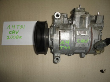 компрессор кондиционера audi vw seat skoda 1.4 tsi tfsi
