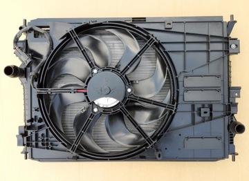 комплект радиаторов вентилятор citroen c4 ii 2013- - фото