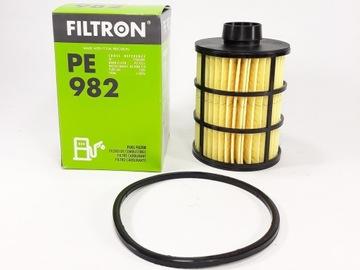 фильтр топливо filtron pe 982 fiat opel peugeot - фото