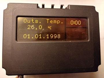 opel omega b/c дисплей bid ccrt700 sprawny,  gw - фото