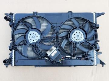 комплект радиаторов вентиляторы audi a6 a7 4g c7 usa - фото