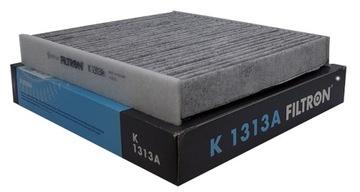 k1313a фильтр салона угольний skoda rapid - фото